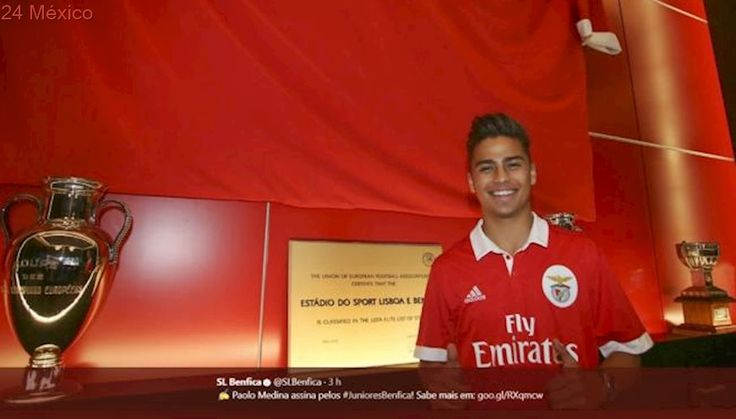 Benfica ficha al joven mexicano Paolo Medina, procedente del Real Madrid
