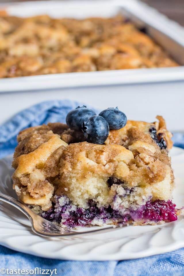 Blueberry Coffee Cake Recipe Homemade Buttermilk Blueberry Cake With Images Blueberry Coffee Cake Coffee Cake Recipes Coffee Cake