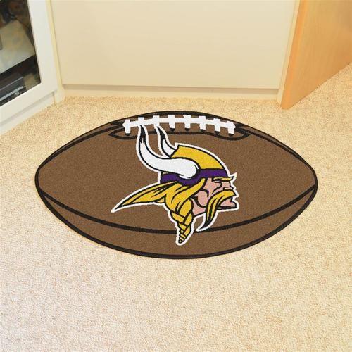 Minnesota Vikings Football Floor Rug Mat