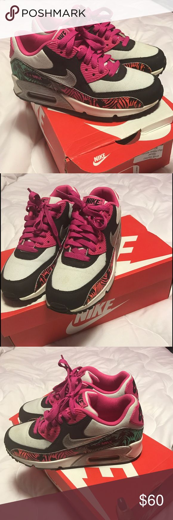 Air Max Sneakers size 4. Women 6 In New Condition Air Max Sneakers size. 4 boys women's size. 6. Sneakers in new Condition only worn twice. Air Max Shoes Sneakers