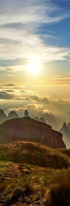 The Serra dos Órgãos National Park is a mountain range in the state of Rio de…