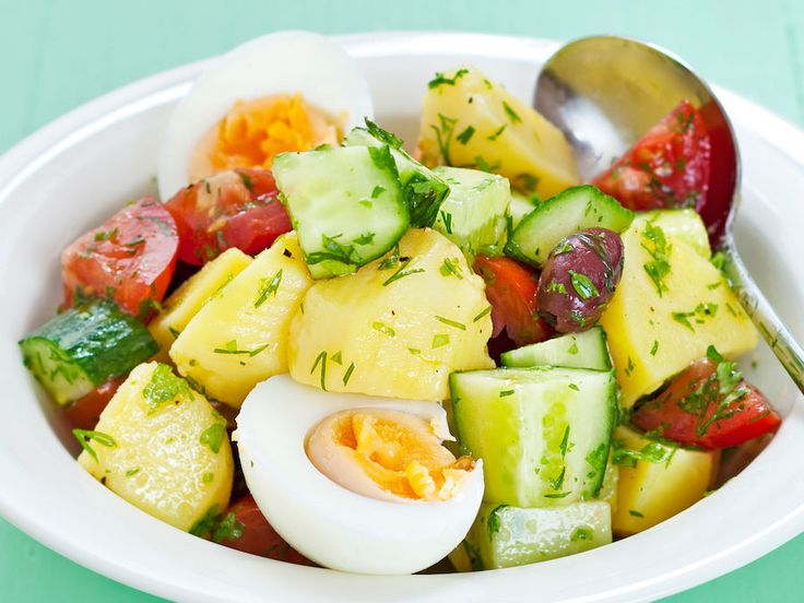 Yrtti-perunasalaatti - Reseptit