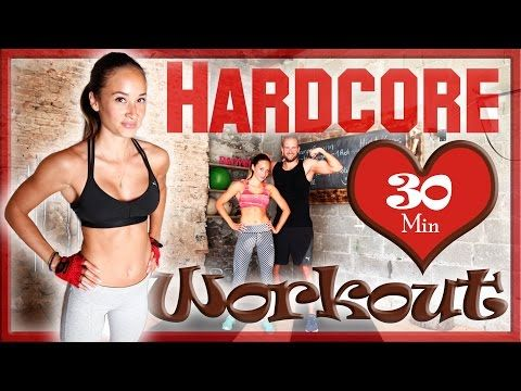 30 Min Ultra Hardcore Workout - Fett verbrennen in 3 Stufen - Neue Art des HIIT - YouTube