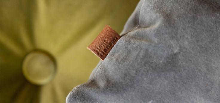 NO. 9 cushion in delicious cotton velvet designed by Bent Hansen Studio  #cushion #pillow #pude #pyntepude #velour #velvet