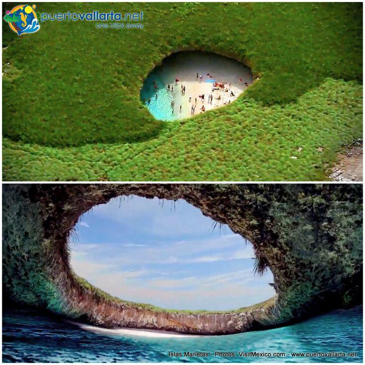Unas nuevas tomas espectaculares de las Islas Marietas, más: http://www.puertovallarta.net/espanol/que-hacer/islas-marietas.php Spectacular new views of the Marieta Islands, more: http://www.puertovallarta.net/what_to_do/marieta-islands.php www.puertovallarta.net #islasmarietas #marietaislands #nayarit #rivieranayarit #vallarta #puertovallarta #mexico #bahiadebanderas Photos/Fotos: www.VisitMexico.com