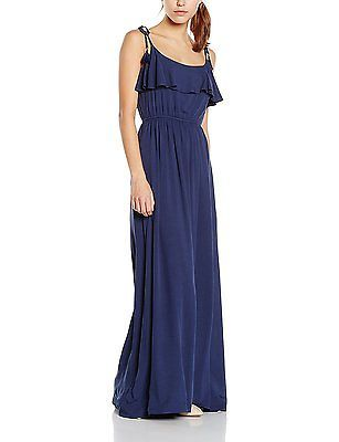 6, Blues 19, Springfield Women's 3.Pa.Vestido Largo Liso Dressed NEW