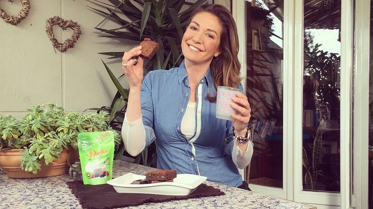 I miei brownies senza zucchero e super leggeri