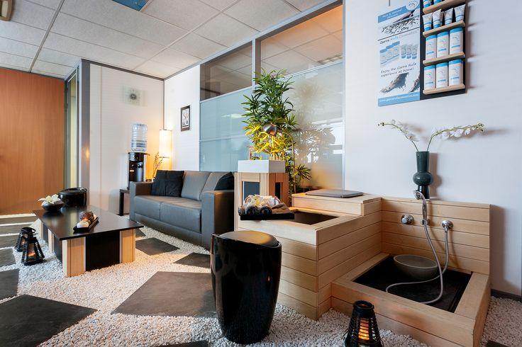 Relax/wachtruimte Beauty Centre Beverwijk, voor klanten in onze schoonheidssalon en kapsalon.