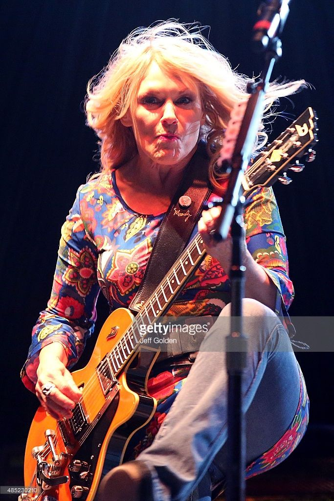 Nancy Wilson of Heart performs at the Antelope Valley Fairgrounds on August 25, 2015 in Lancaster, California.