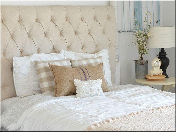 Romantikus stílusú lakberendezés, hálószoba