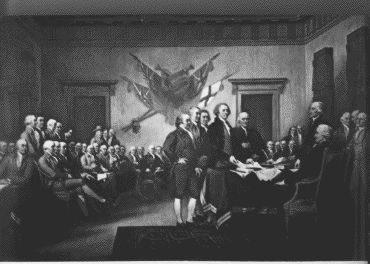 A history of the revolution of america and the declaration of independence from the british