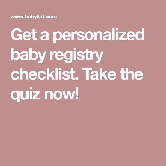 The  Best Baby Registry Checklist Ideas On   Baby
