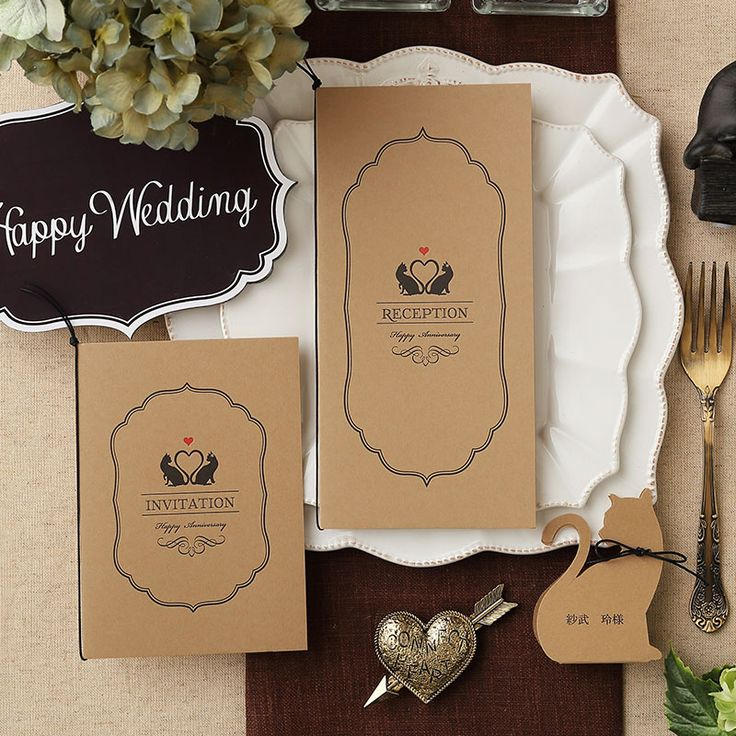 招待状 ミネット キャメル | 招待状 | 結婚式招待状・席次表、手作りウェディングの格安販売 ココサブ