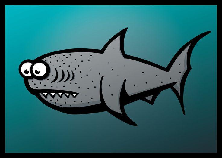 Confused Shark by inspired-imaging.deviantart.com on @DeviantArt