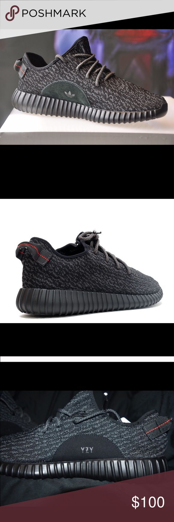Yeezy boost 350 Original yeezy boost , black worn twice , that's why the price is what it is. Great condition as in pictures Yeezy Shoes Athletic Shoes