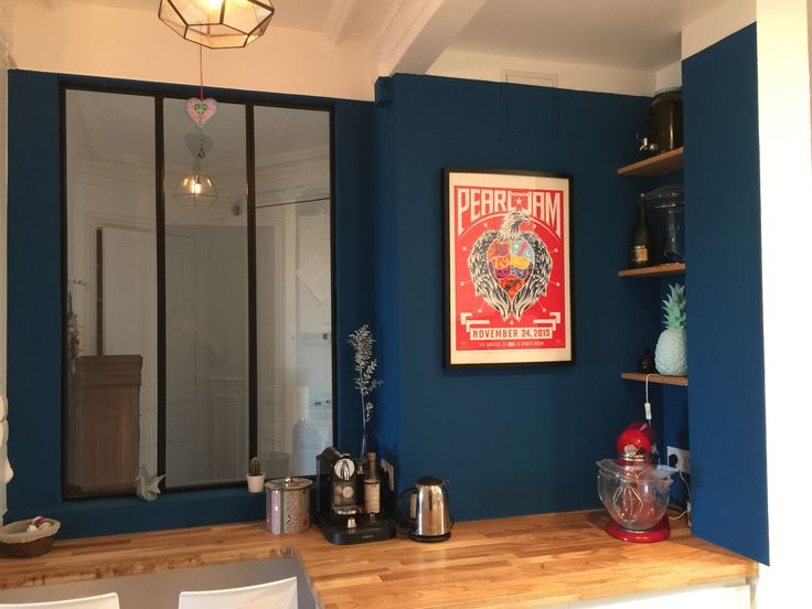 Blue kitchen #pearljam #blue