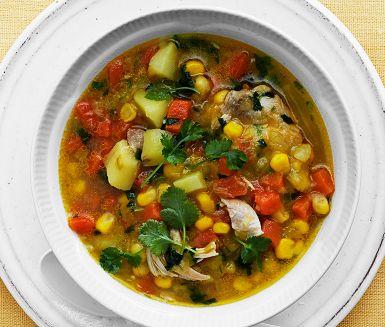 Recept: Peruansk kycklingsoppa