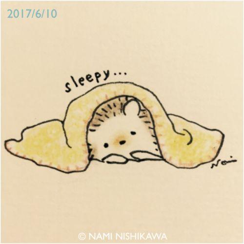1203 ねむねむ… Sleepy …