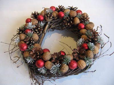 ProjectGallias: #projectgallias Christmas wreath handmade decoration, Wianek Boże Narodzenie świąteczna dekoracja
