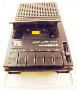 Magnétophone à Cassette (Années 70) C'était le même que j'avais