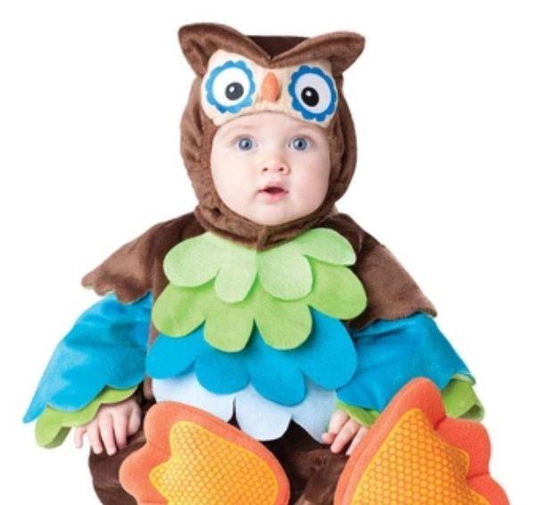 Baby kostuum Uil