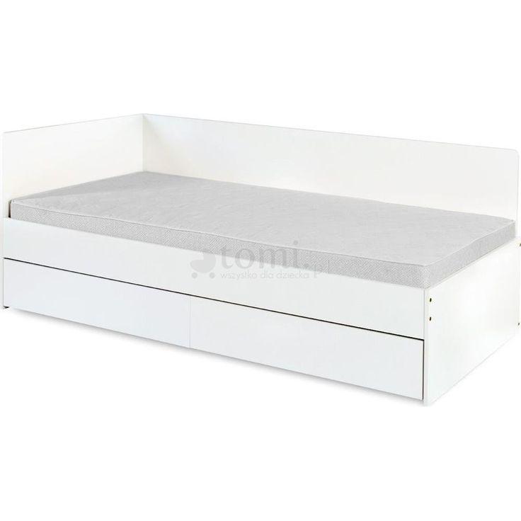 Klupś Top Paris łóżko młodzieżowe z szufladą200x90 Biały