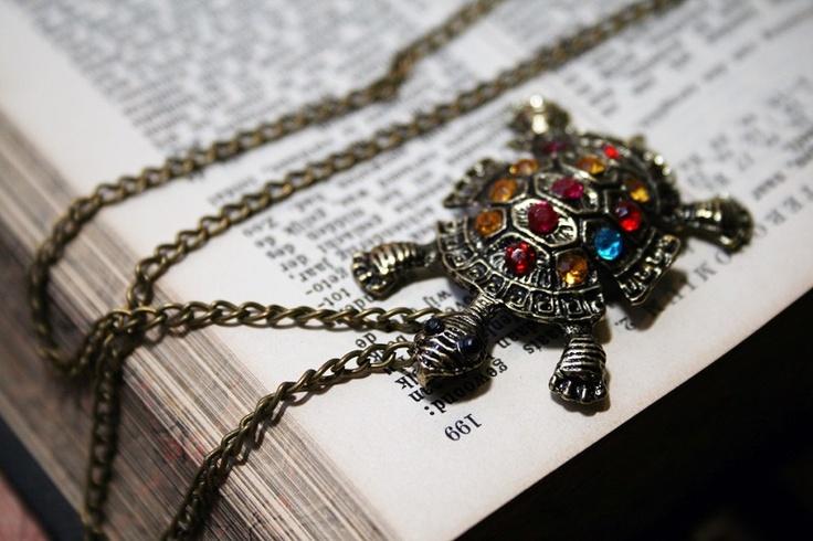 Turtle schildpad ketting