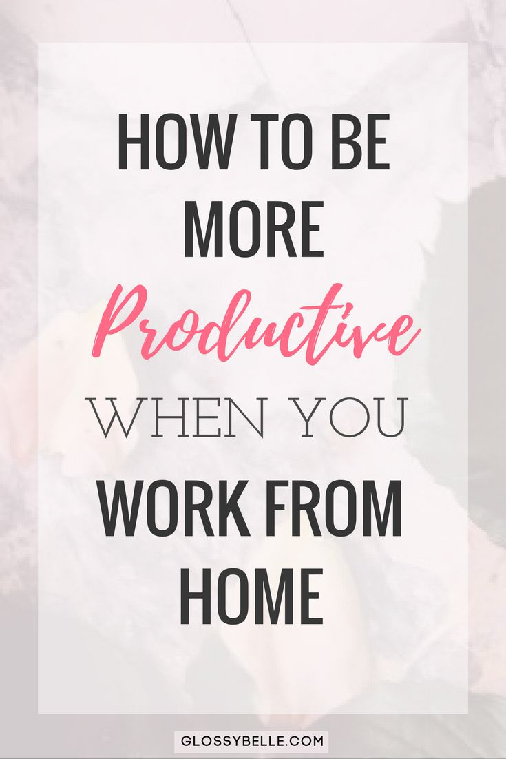 If you work from home and find that you're unfocused and often get distracted, learn about the methods I've used to successfully be more productive with my time, skyrocket my efficiency rate, and get more done in this post.