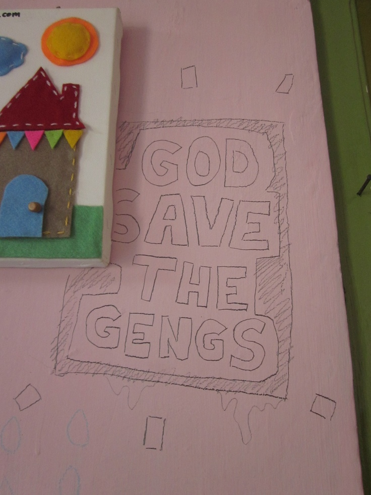 God save the gengs, by Lluis Pino
