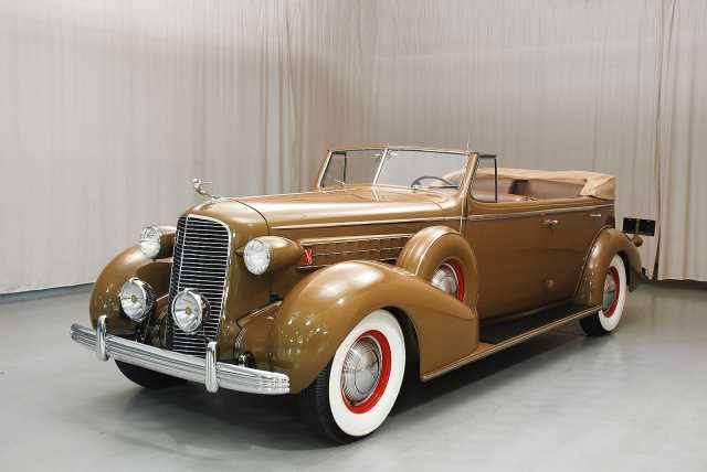 1936 Cadillac Series 36-75 Convertible Sedan