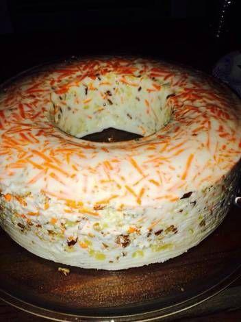 Gelatina cremosa de Zanahoria