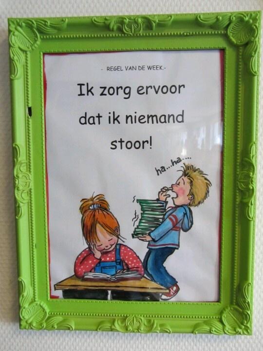 Ik zorg ervoor dat ik niemand stoor. Website: http://augustinus.tabijn.nl/organisatie/Paginas/Schoolregels.aspx