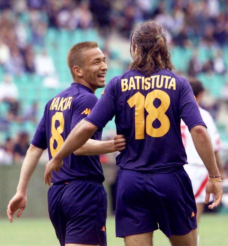 Hidetoshi Nakata & Gabriel Batistuta