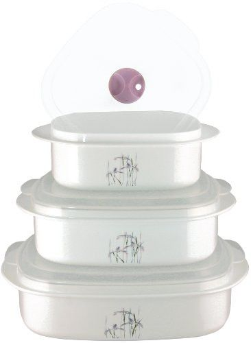 Corelle Coordinates 6-Piece Shadow Iris Microwave Cookware Set