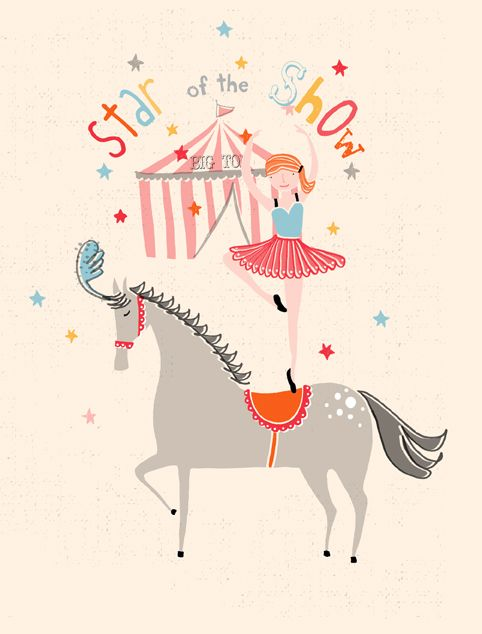 Star of the Show by Dawn Bishop #illustration