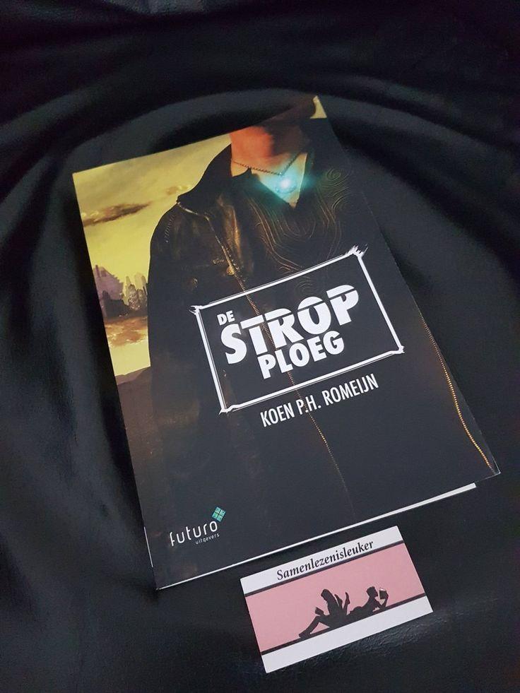 """Leuk, Karin en Corina van blogsite Samenlezenisleuker zijn begonnen aan de thriller scifi 'De Strop Ploeg' van Koen Romeijn: """"Zo dan. Dit begint lekker!"""". Wij kijken uit naar de recensie! #destropploeg #koenromeijn #scifi #thriller #samenlezenisleuker #futurouitgevers"""