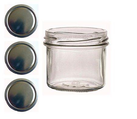 40 Sturzgläser 125 ml Marmeladengläser Einmachgläser Einweckgläser To 66 Gold: Amazon.de: Küche & Haushalt