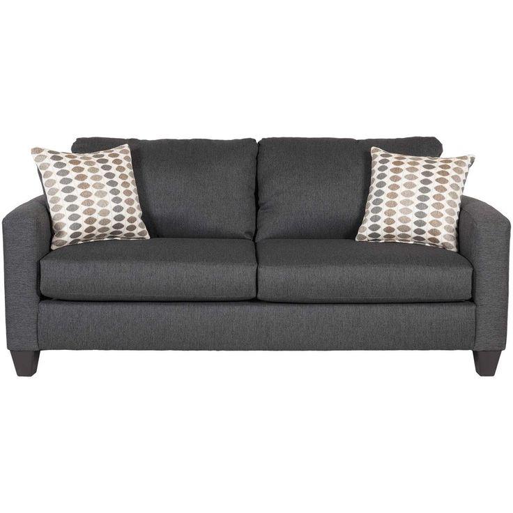 Piper Carbon Full Sleeper Sofa J-1005 | Fusion Furniture | AFW