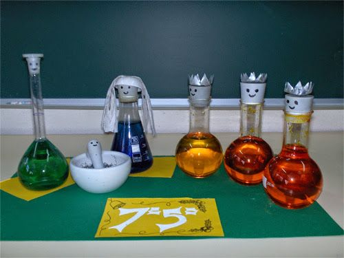Lista de Presépios criativos com links - presépio de instrumentos de laboratório