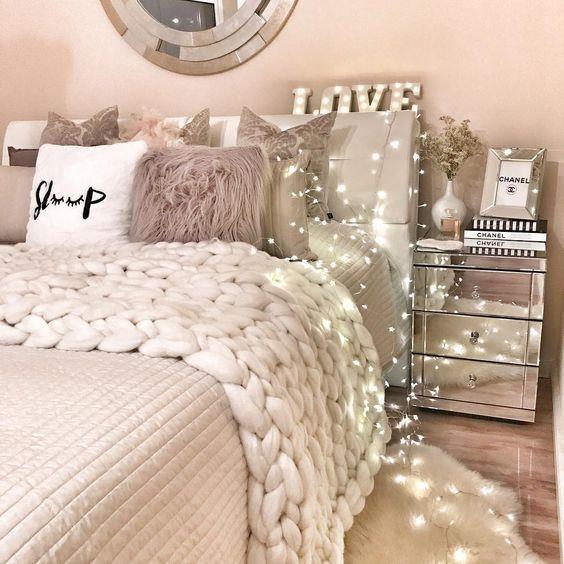 I like the pillows, nightstand stuff, and bug blanket