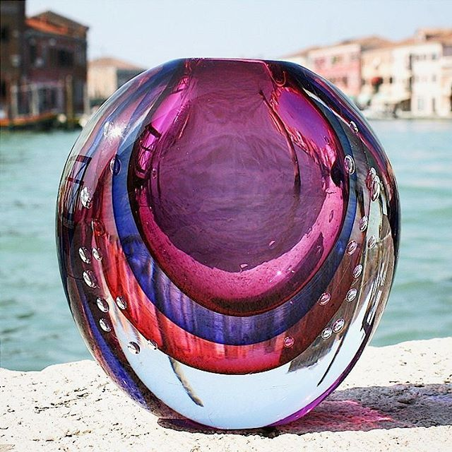 Summertime in #Murano...viewed throuhg a rainbow #yourmurano
