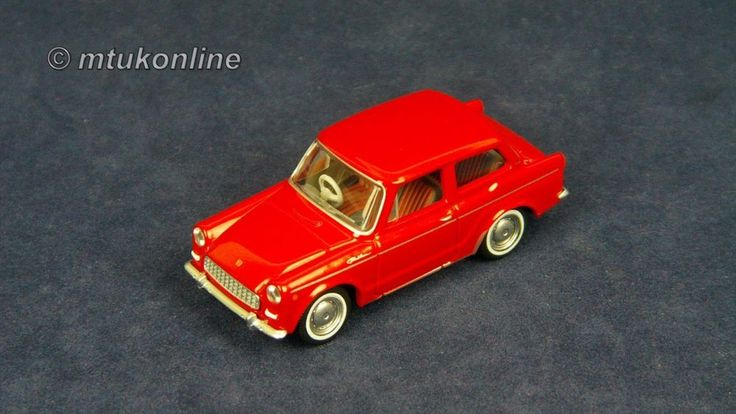 TOMICA LV44a TOYOTA PUBLICA DELUXE 1963 | 1/64 | RED | TOMYTEC 2007