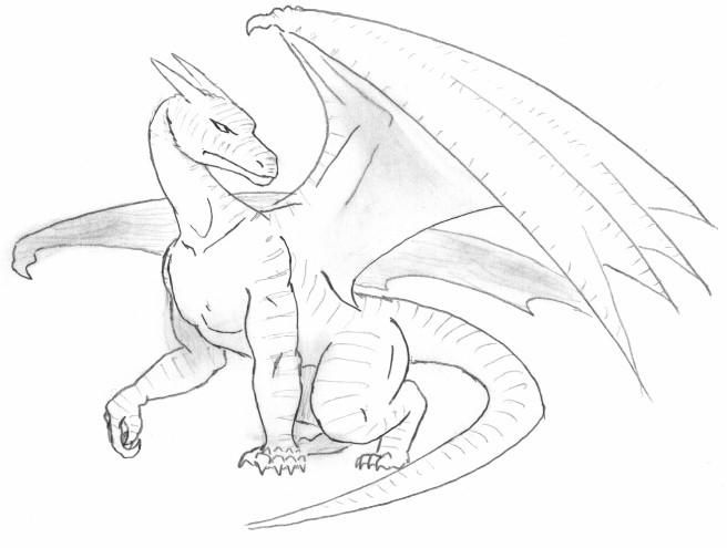 Best 25 Simple Dragon Drawing Ideas On Pinterest
