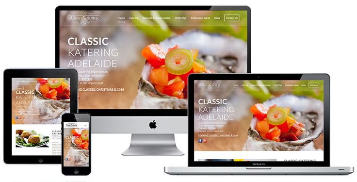 Ivolution Consulting - Adelaide Website Design - Classic Katering
