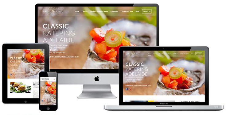 Ivolution Consulting - Adelaide Website Design - Classic Katering
