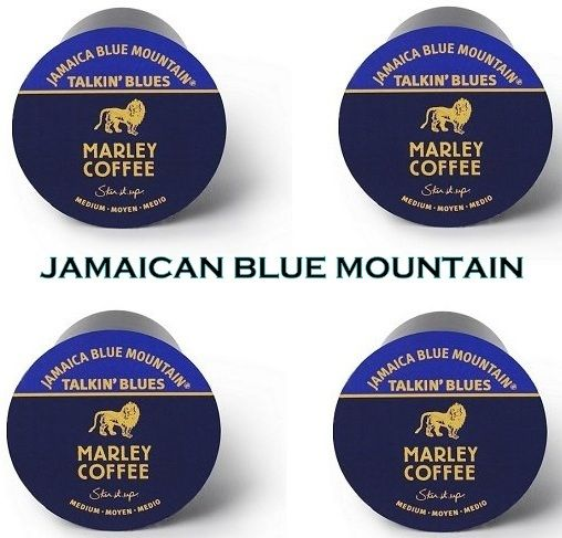 MARLEY Jamaican BLUE MOUNTAIN Coffee 12 K Cup Pods Fresh New Lot - Coffee Pods & K-Cups- BEST coffee in the World! #nvcandy