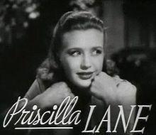 Lane Sisters, Priscilla Lane,