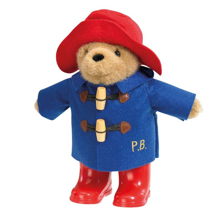 Paddington Bear with Boots & Suitcase from Hamleys