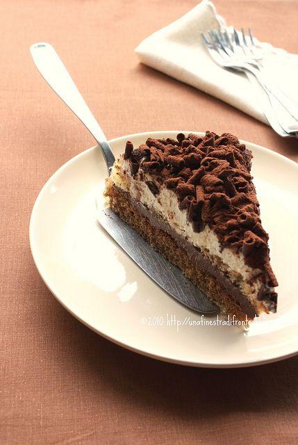 Torta tiramisù al cioccolato