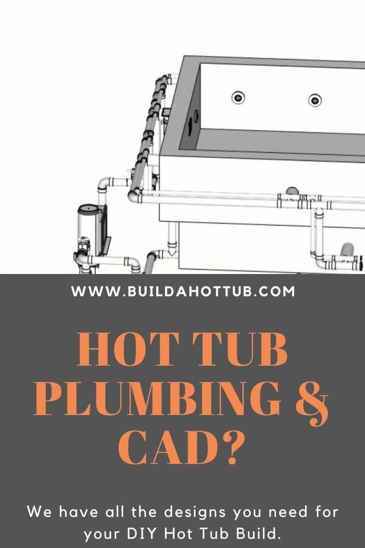 Diy Hot Tub Designs  U0026 Plumbing Diagrams  Video  In 2020